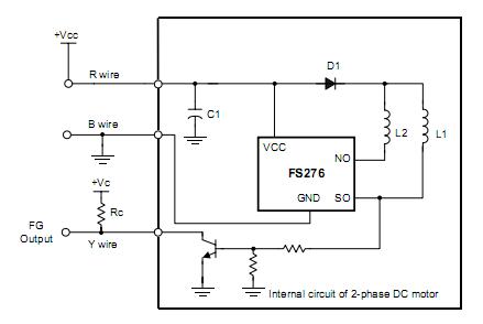 Схема драйвера кулера